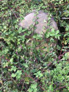 Milestone 10 on the route to Bristol from Old Passage